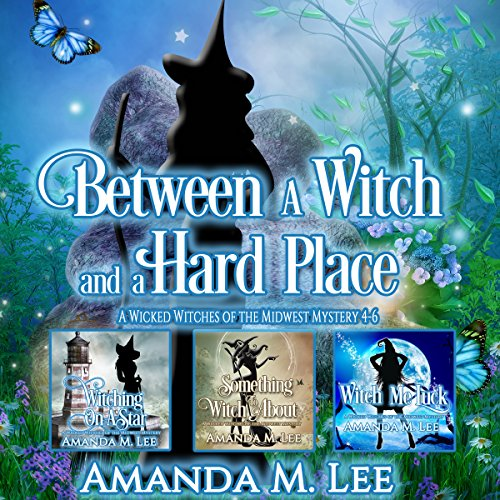 Between a Witch and a Hard Place audiobook cover art