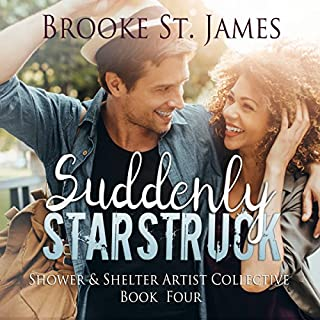 Suddenly Starstruck audiobook cover art