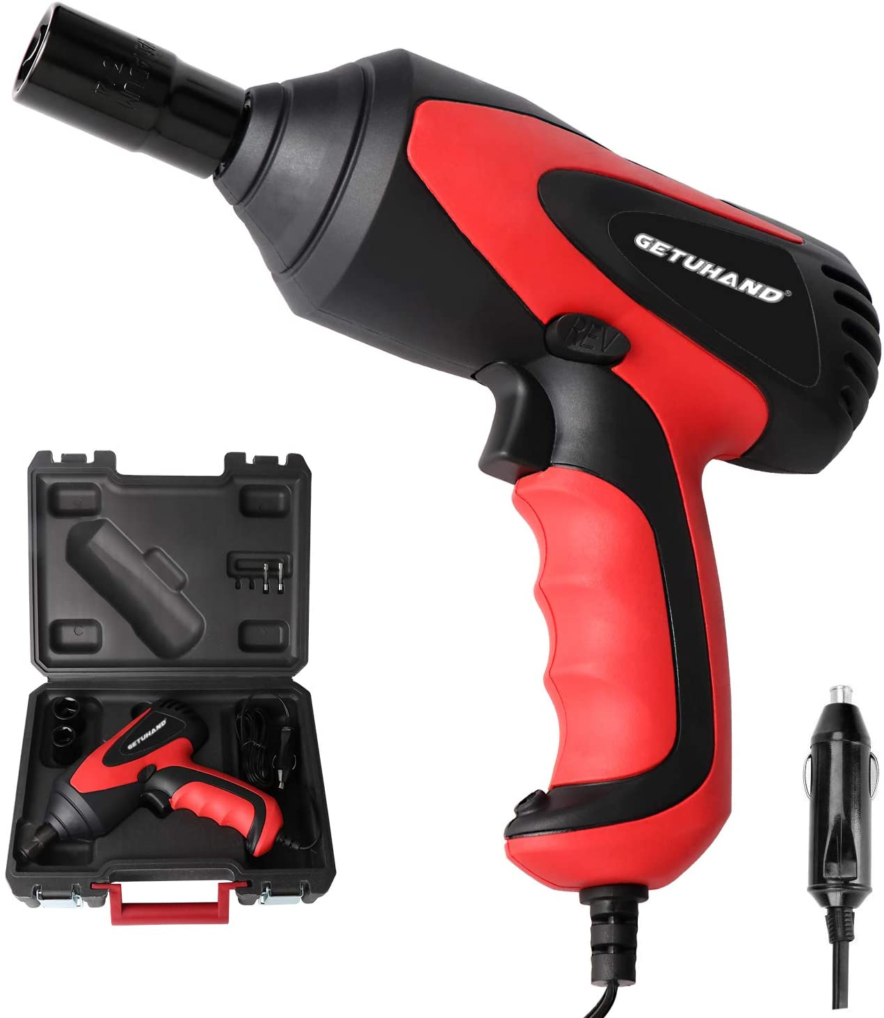 GETUHAND BT033 Portable Electric Car Impact Wrench, Tire Repair Tools