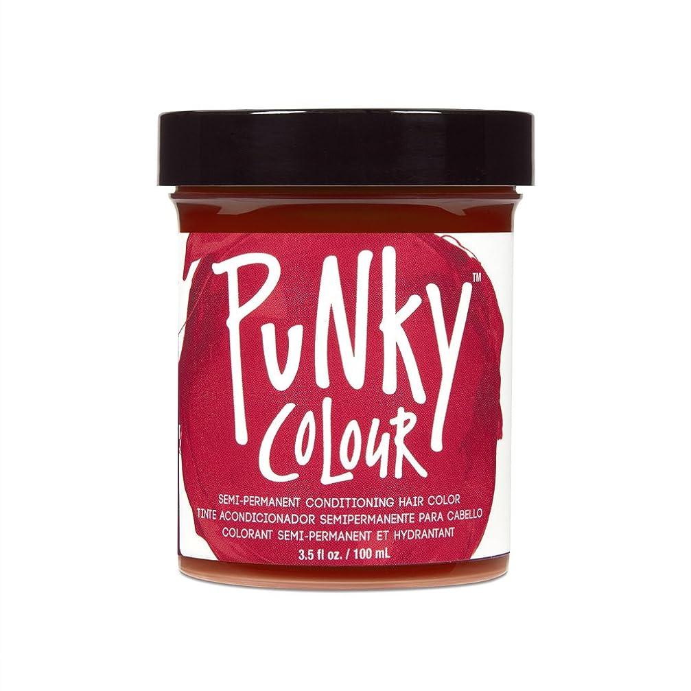 間違いなくかる追記(3 Pack) JEROME RUSSELL Punky Color Semi-Permanent Conditioning Hair Color - Poppy Red (並行輸入品)