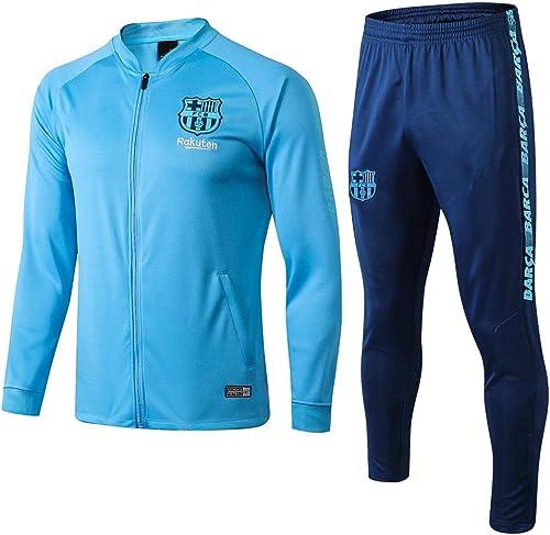 Adulte Football Formation Sportswear Veste Et Pantalon Costume V-Cou Complet Zipper Hommes's Gift
