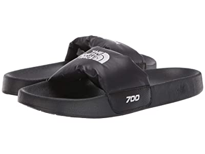 The North Face Nuptse Slide (TNF Black/TNF White) Women