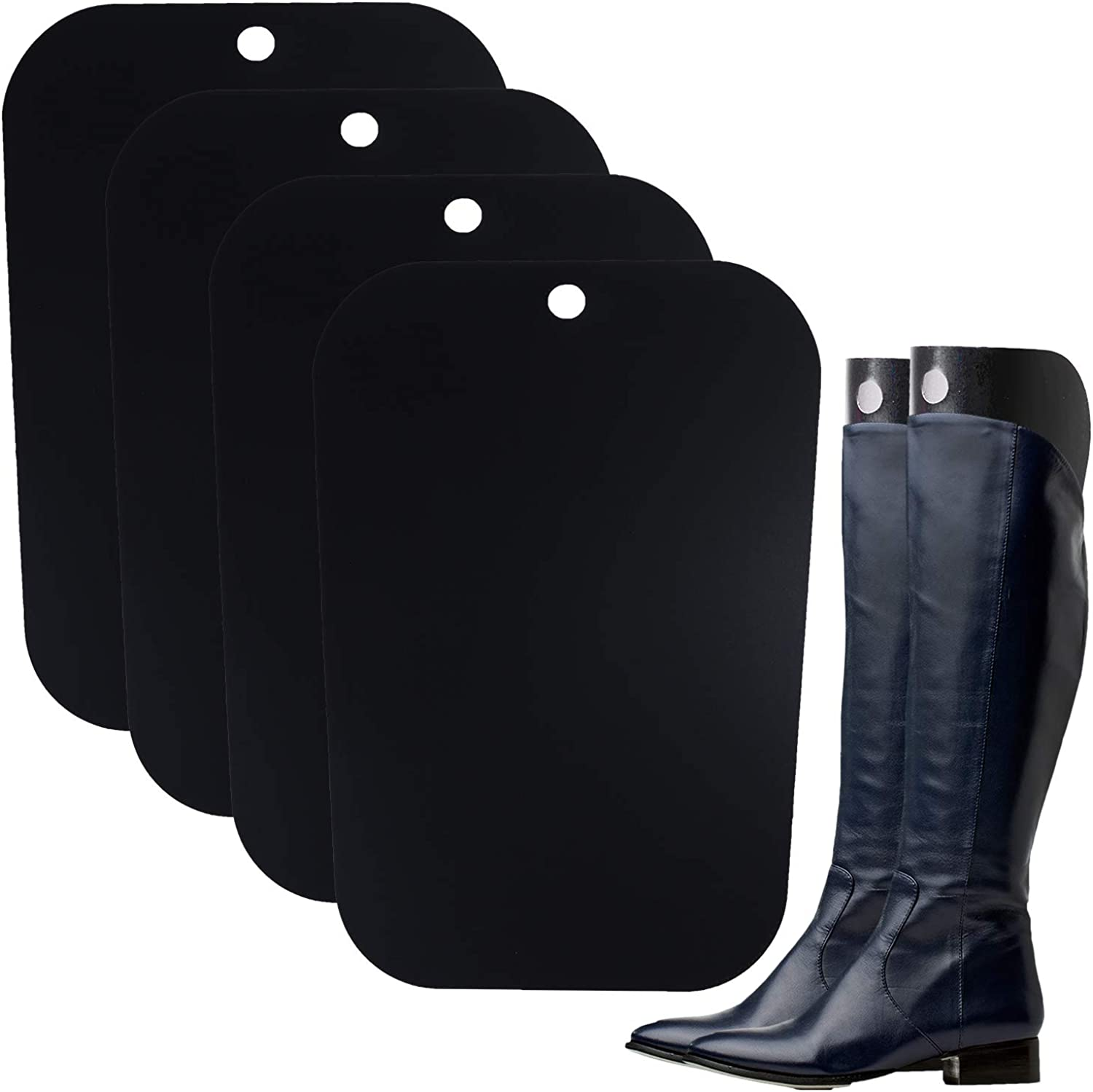 Ruisita 4 Pieces Boot Shapers Inserts Form Boots Time sale Opening large release sale Breathable Supp