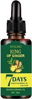 Hair Growth Serum Treatment Anti Hair Loss for Baldly Man Ginger Germinal Essential Oil Promotes Hair and Regrowth Enhance...