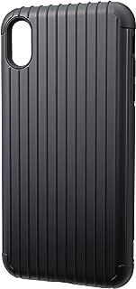 GRAMAS CHC-52438BLK 罗纹混合外壳,适用于 iPhone XS Max - 黑色