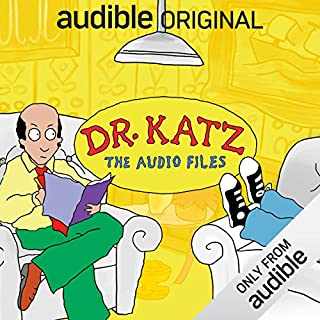 Dr. Katz: The Audio Files audiobook cover art