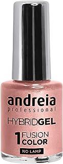 Esmalte de uñas de gel profesional de Andreia 2 pasos y no requiere lámpara larga duración y fácil de quitar color de f...