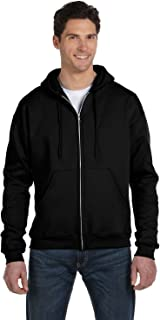 Adult 50/50 Full-Zip Hooded Sweatshirt, Ash