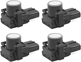 (4PCS/Lot) AUTOS-FAMILY PDC Parking Sensor 89341-33160 48010 for Toyota Camry Corolla Prado Reiz Land Cruiser Tundra Sequoia LEXUS GX460 RX350 RX450h (White)