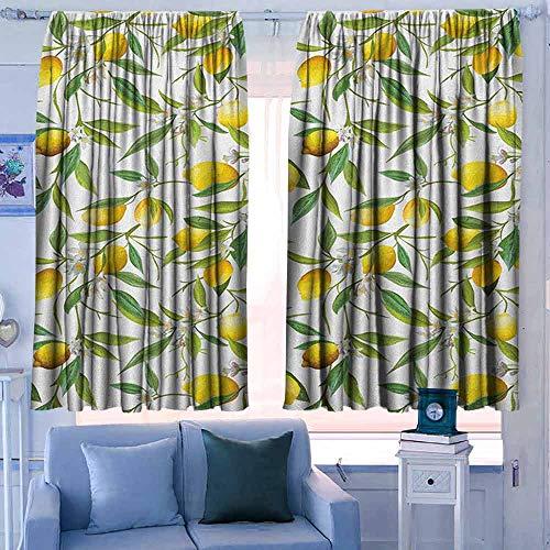 Rod Pocket Gordijnen voor kamer donkere panelen voor woonkamer slaapkamer natuur stoffige storm wolken en donder over snelweg in veld elektrische activiteit afdrukken oranje grijs