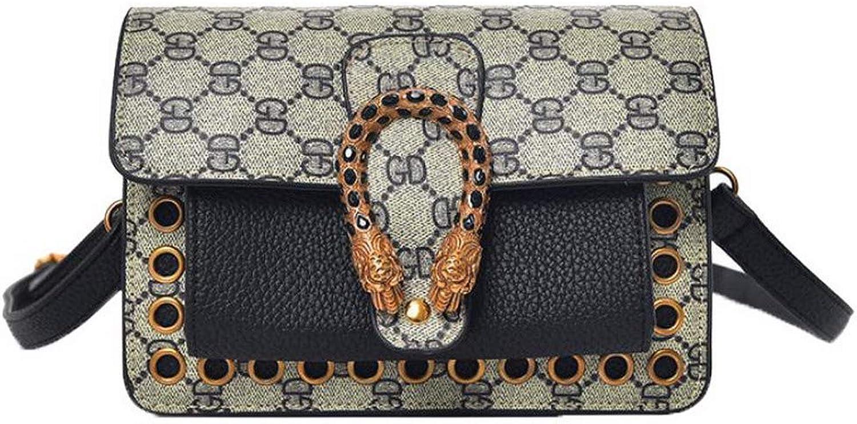 WeiPoot Women's Shopping Bags Ornamented Pu Crossbody Bags,EGHBG182480