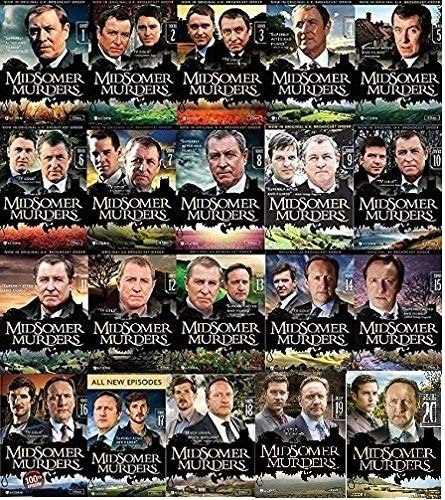 Midsomer Murders Ultimate Collection Series 1-20