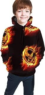 Hunger-Games Unisex Child Teen Hooded Sweate Pullover Hoodie Sweatshirt for Girl Boys