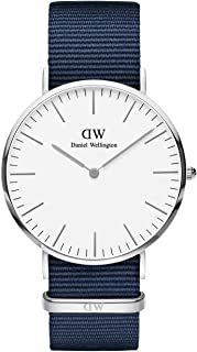 Daniel Wellington Unisex Adult Analogue Quartz Watch with Textile Strap DW00100276