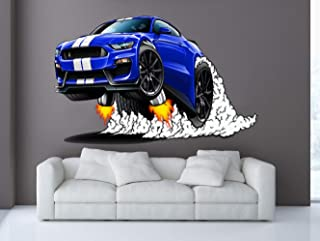 2016-17 Shelby GT350 Mustang WILD RIDES Wall Art Graphic Decal Sticker (3 Ft)