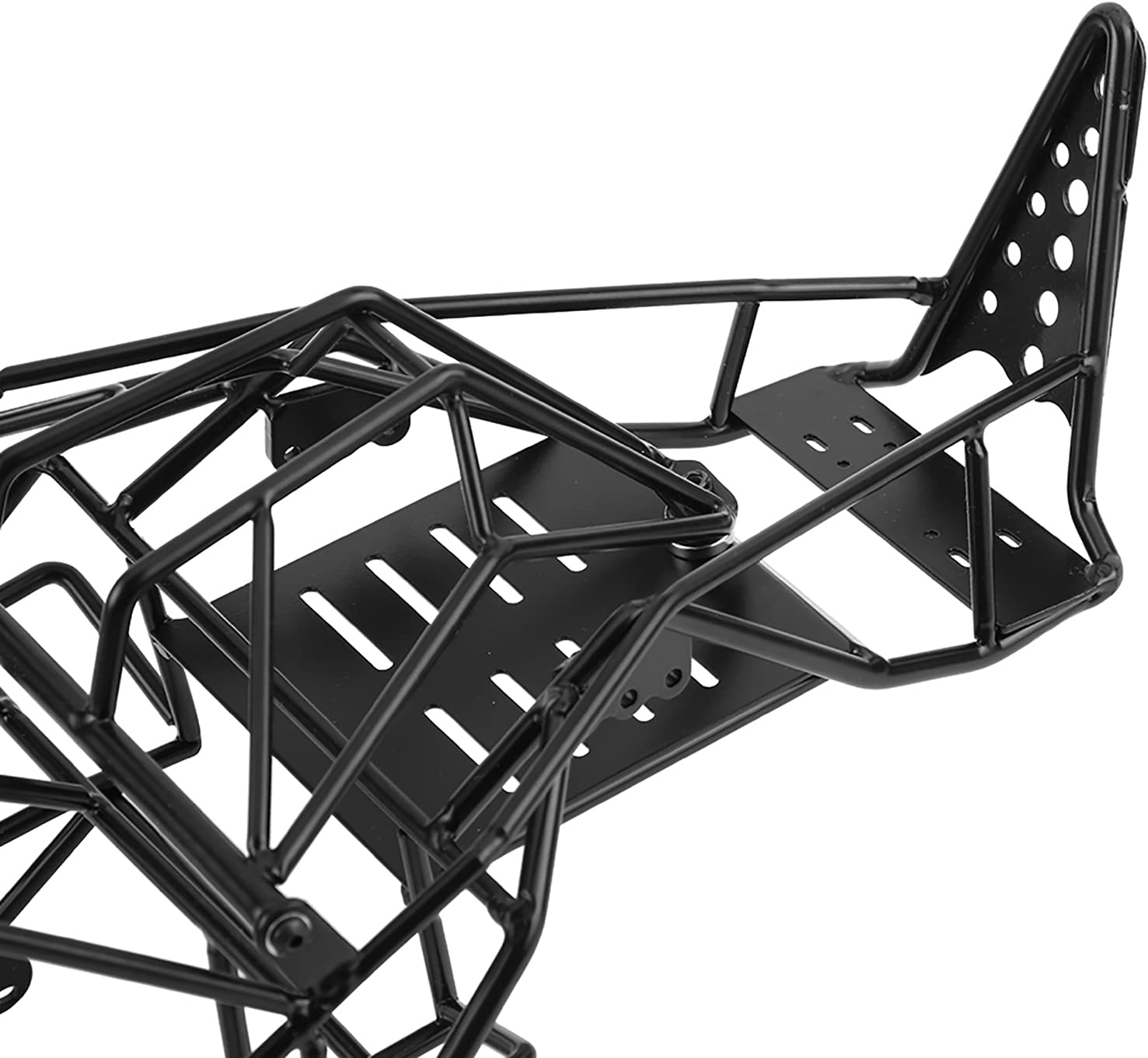 Aoutecen RC Car High order Frame Roll Metal Black Exquisite Quantity limited Superior