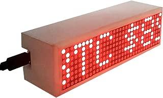 Crypto Coin Price Ticker LED Matrix Display Wi-Fi