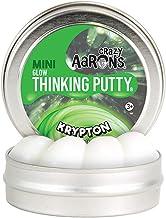Crazy Aaron's Putty World Krypton Glow in The Dark Thinking Mini Tin
