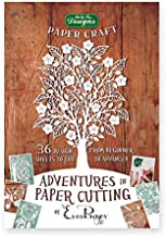 Adventures in Paper Cutting, Series One, Papercut Templates, Designs and Patterns - Perfect for Beginners: Turn a Single Piece of Paper into a Work of Art by Emma Boyes