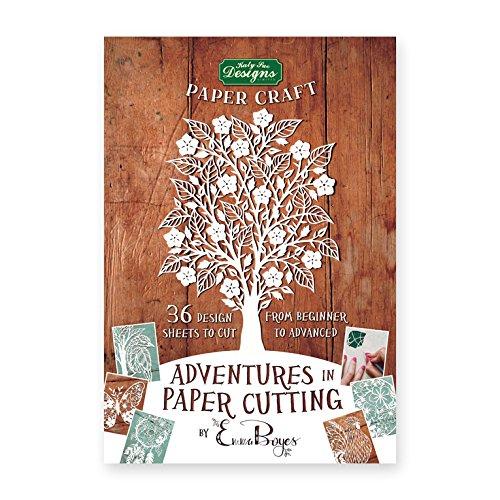 Katy Sue Designs Adventures in Paper Cutting Kit de corte de papel, incolora, ninguna