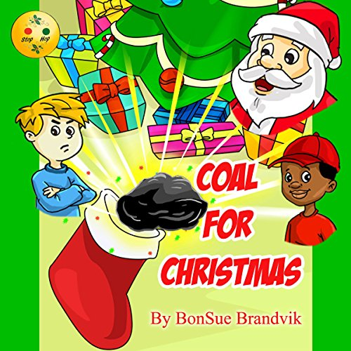 Coal for Christmas audiobook cover art