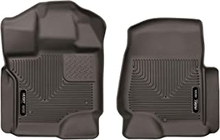Husky Liners Fits 2017-19 Ford F-250/F-350 Crew Cab/SuperCab X-act Contour Front Floor Mats
