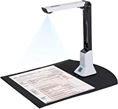 $61 » Document Camera, high-Definition Professional Book Document Scanner, Automatic Flattening and Tilting Technology, Capture ...