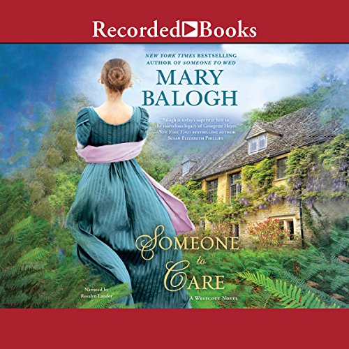 Someone to Care audiobook cover art