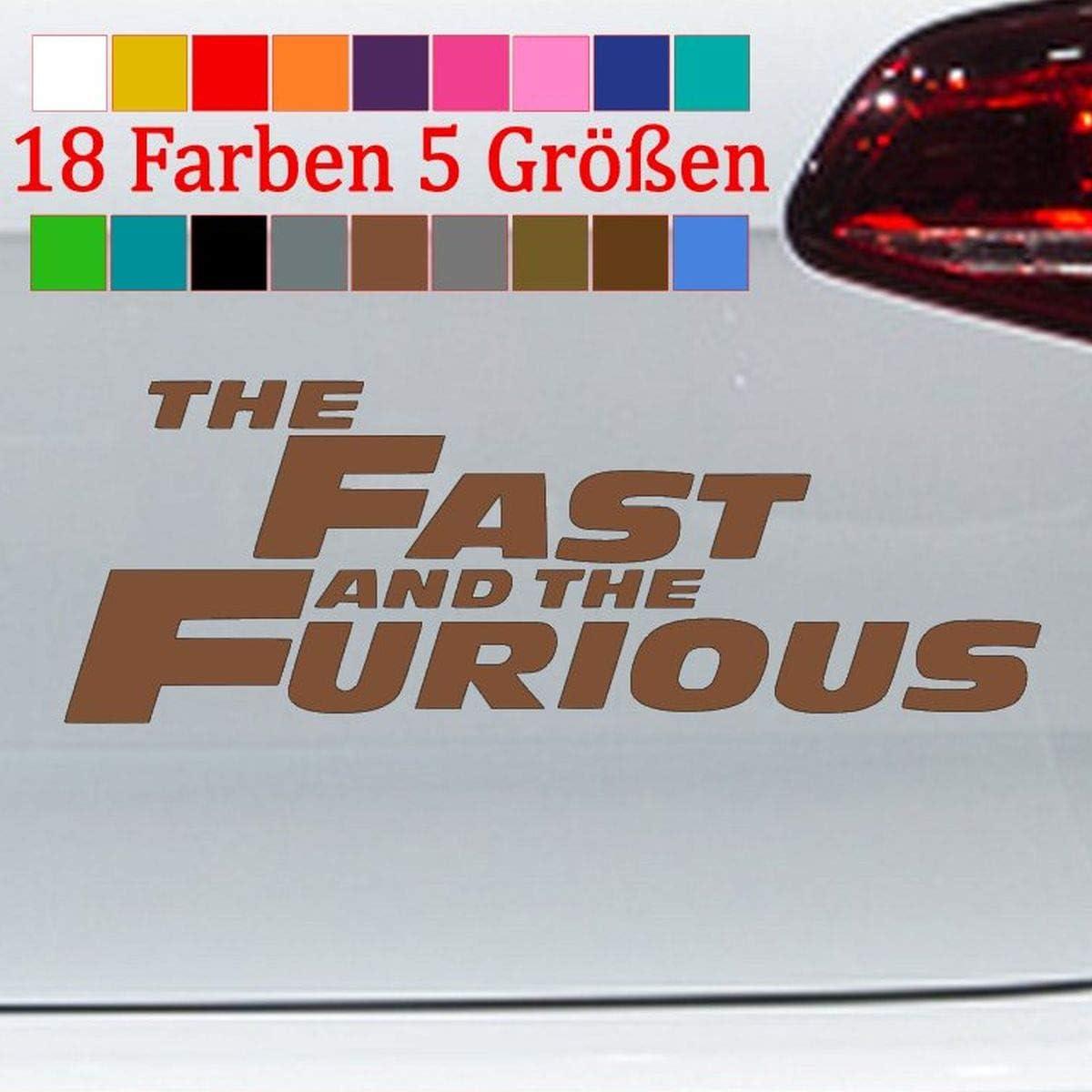 Generic Fast And Furious Aufkleber Paul Walker Bumper Sticker Vw Decal 18 Farben 5 Größe Küche Haushalt