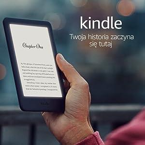 Kindle | Z podświetlonym ekranem | czarny | bez reklam