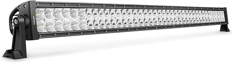 LED Light Bar Nilight 42Inch 240W Spot Flood Combo LED Driving Lamp Off Road Lights LED Work Lightfor TrucksBoat Jeep L...