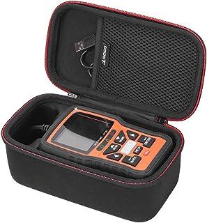 RLSOCO Tasche für Ancel VD500, BA101,AutoDia SX40,Autel AutoLink AL319, JDiag OBD2 ,FOXWELL NT301 Foxwell NT201 Diagnosegerät OBD Öl Drosselklappenposition zurücksetzen Reset Tool(NUR Tasche)