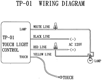 [SCHEMATICS_4ER]  Explore touch dimmers for lamps | Amazon.com | Light Switch Touch Wiring Diagram For |  | Amazon.com