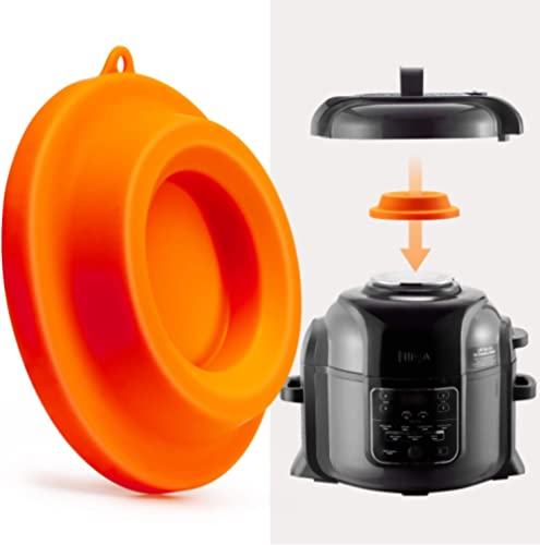 Goldlion Lid Stand Silicone Lid Holder Accessories Compatible with Ninja Foodi Pressure Cooker and Air Fryer 5 Qt, 6....