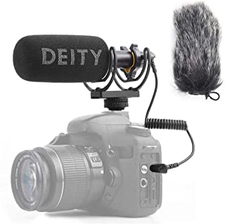 Deity V-Mic D3 Super-Cardioid Directional Shotgun Microphone with Rycote Shockmount and PERGEAR Cloth for DSLRs, Camcorder...