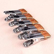 20pcs / set Grote Huishoudelijke roestvrij staal wasknijpers Quilt Hanger Fixing Wasknijper Multifunctionele Sokken Klemme...