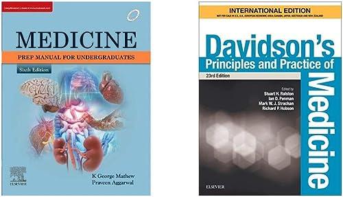 Medicine Prep Manual for Undergraduates Davidson s Principles and Practice of Medicine International Edition Set of 2 Books