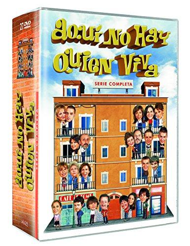 Aqui No hay Quien Viva DVD Serie Completa Nessuna Lingua Italiana Nessun Sottotitoli Italiano