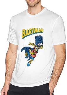 BART-Man Men's Short Sleeve T-Shirt White