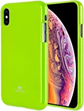 Goospery Pearl Jelly for Apple iPhone Xs Max Case (2018) Slim Thin Rubber Case (Lime) IPXSP-JEL-LIM