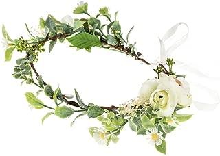 Vividsun Wedding Bridal Green Leaf Flower Crown Eucalyptus Floral Crown Maternity Photo Props