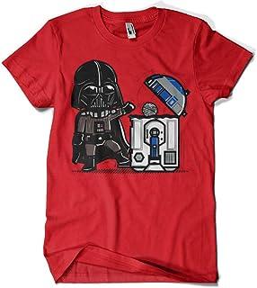 Darth Smoke Camisetas La Colmena 319-Maglietta Donnie Parody Star Wars