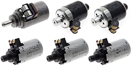 High Performance 722.6 Solenoids Set 6 Pcs for Mercedes Benz 5-SPEED Automatic Transmission