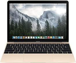 Apple Macbook Retina Display Laptop (12 Inch Full-HD LED Backlit IPS Display, Intel Core M-5Y31 1.1GHz up to 2.4GHz, 8GB RAM, 256GB SSD, Wi-Fi, Bluetooth 4.0) Gold (Renewed)
