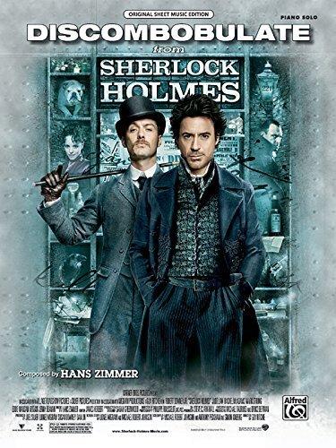 Discombobulate (from Sherlock Holmes): Piano Solo (Sheet) (Original Sheet Music Editions) by Zimmer, Hans (2010) Sheet music