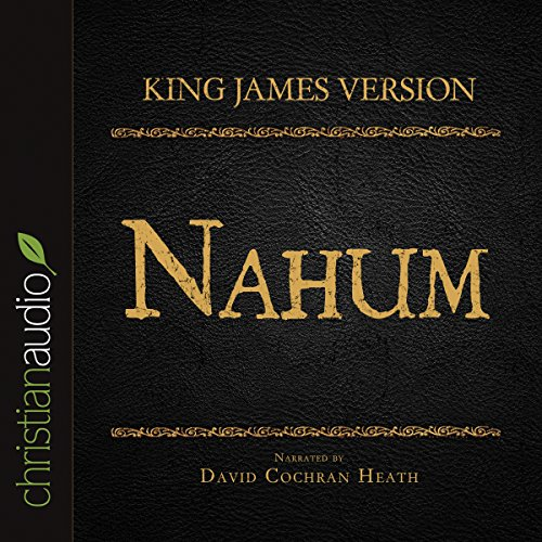 Holy Bible in Audio - King James Version: Nahum audiobook cover art