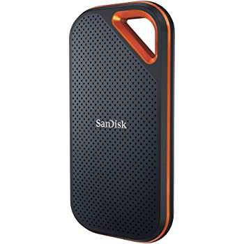 SanDisk ポータブルSSD 1TB 最大1050MB/秒 【PS4 メーカー動作確認済】 USB3.1 Gen2 防滴 耐振 耐衝撃 SDSSDE80-1T00-J25 5年保証