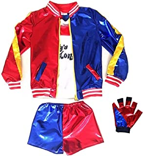 Harley Quin costume girls -Standard fit