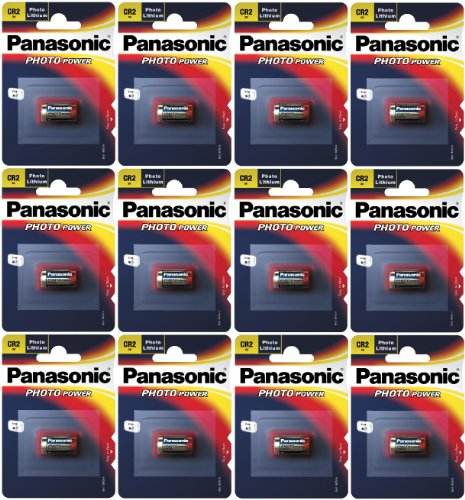 Panasonic CR2 x 12 Päckchen (Clip) (12er Set)
