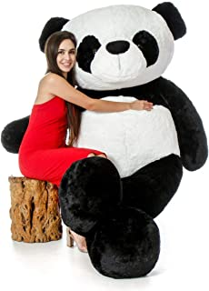 GURUDEV Lovable Hug able Cute Extra Large Teddy Bear (Best for Someone Special) (6 feet, Panda)